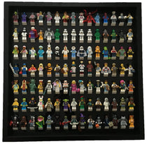 Black Edition Black Display Frame for 105 Lego® Minifigures