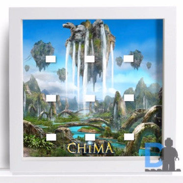 Lego Legends of Chima minifigures frame