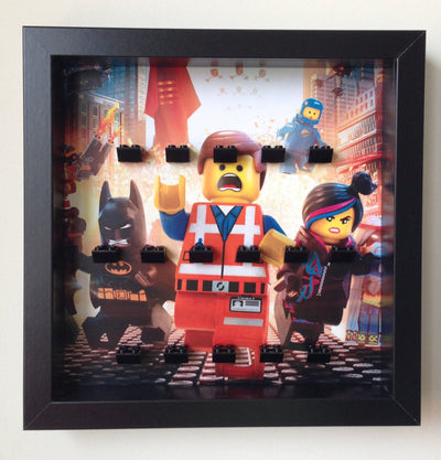 Frame for The Lego® Movie Minifigures