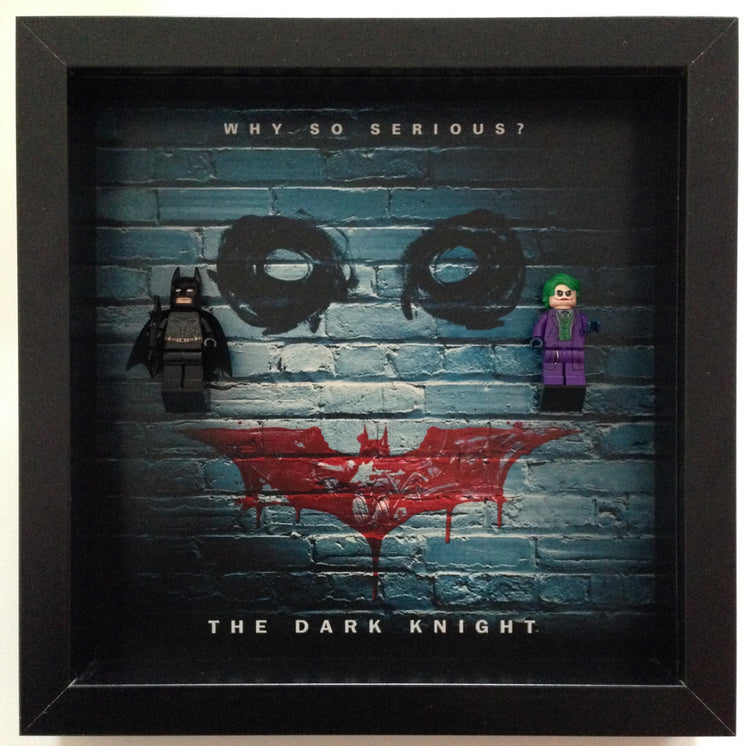 Lego Minifigures Display Frame Exclusive  Lego Batman