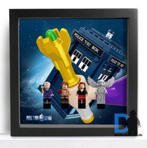 Frame for Lego® Doctor Who minifigures - 21304 set Special edition
