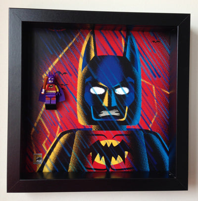 Frame for Lego® Batman of Zur-En-Arrh Minifigure - Comic Con Special edition