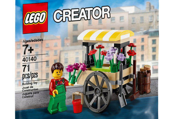 Lego Creator Flower Cart - 40140 Polybag