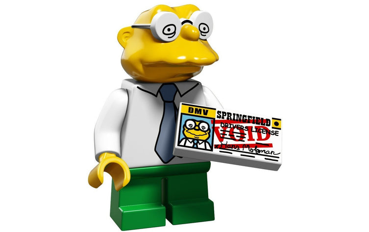 Hans Moleman – The Simpsons Series 2 LEGO Minifigure