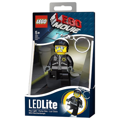 Lego Movie Bad Cop LED Key Light Torch