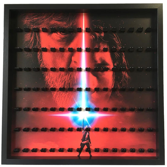 Lego Minifigures Display Frame Star Wars The Last Jedi Large  for ...
