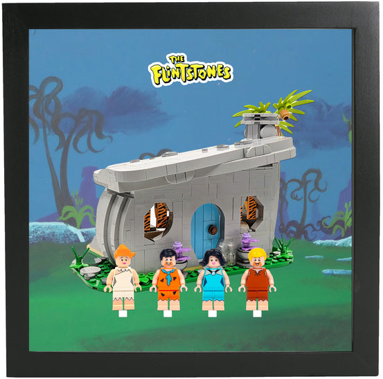 Lego Minifigures Display Frame  Lego The Flintstones Minifigures