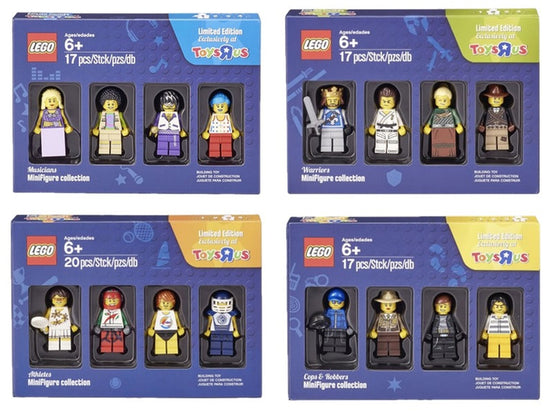LEGO FULL Minifigures Collection Toys R Us Exclusive 5004421 5004422 5004573 5004424