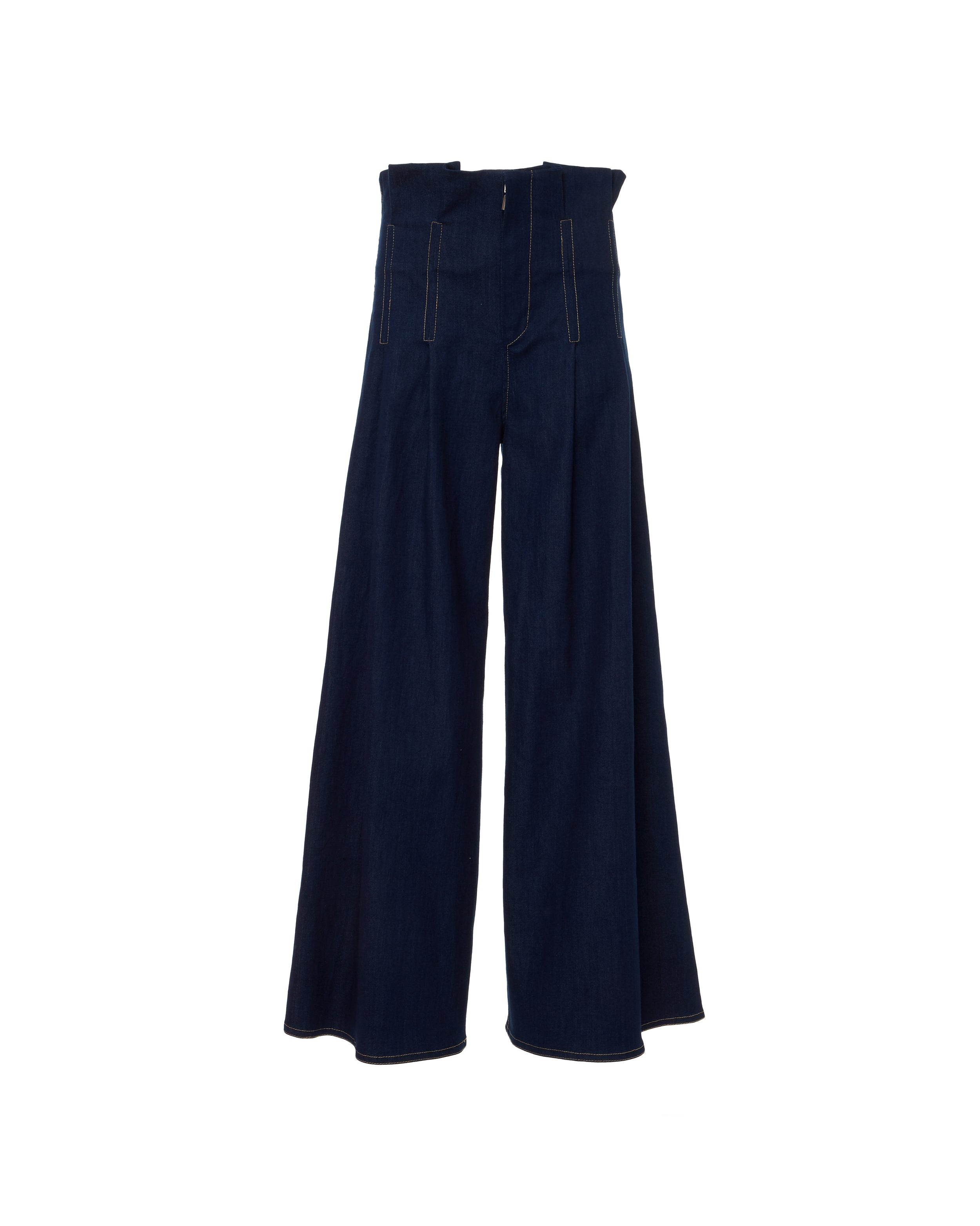 Solo Trousers Indigo Denim