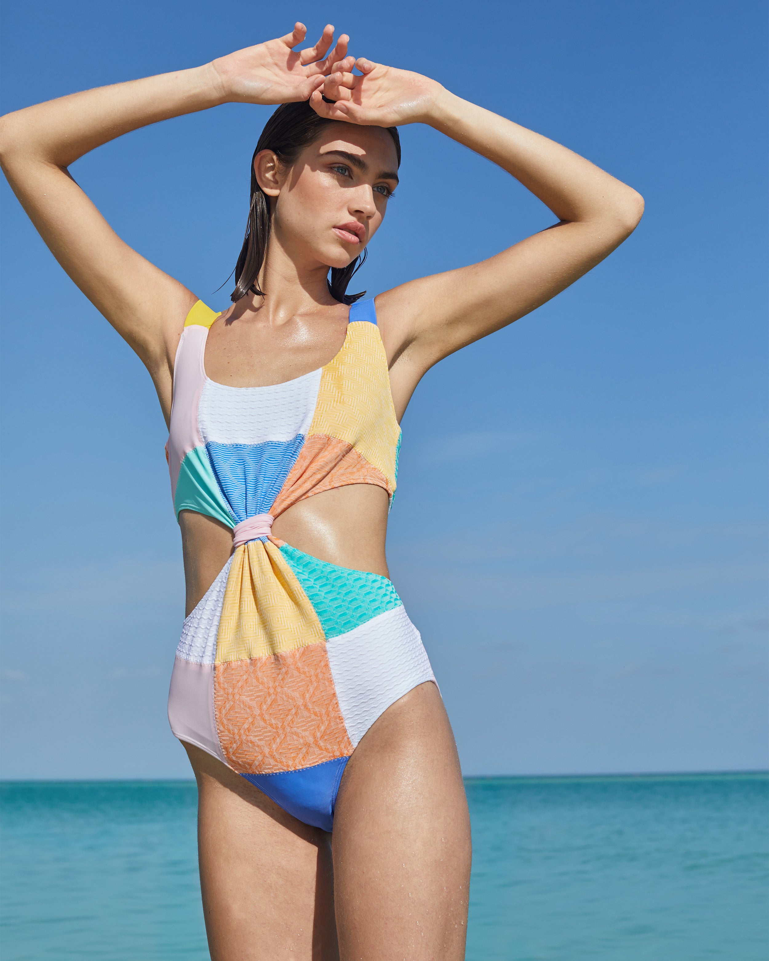 Barbuda Swimsuit in Island Hopping