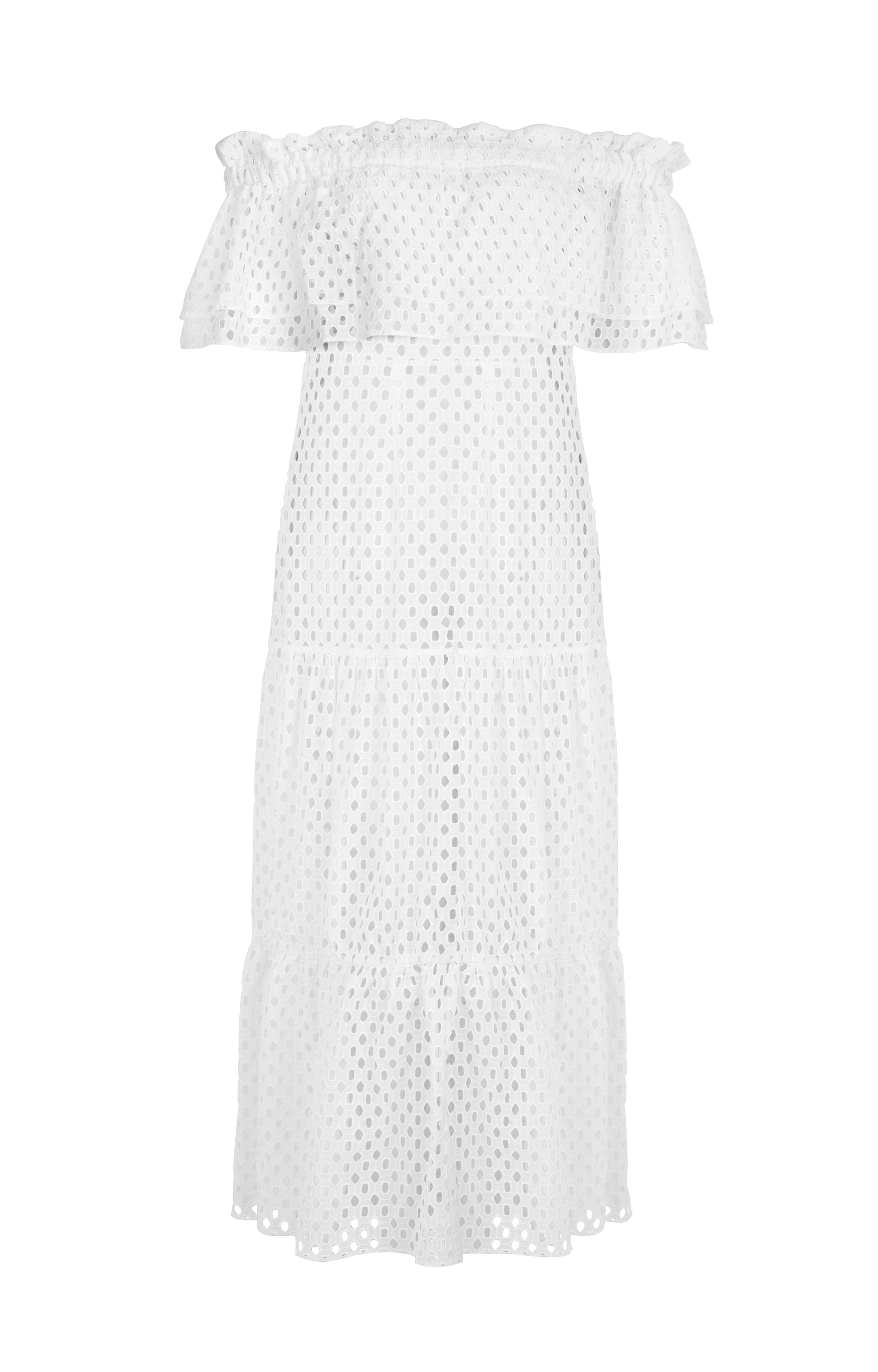 Ibiza Dress Broderie Anglaise