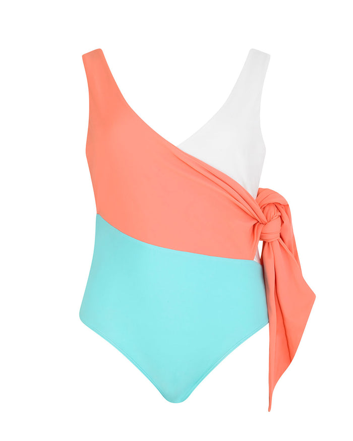 Copacabana Swimsuit in Coral Coast