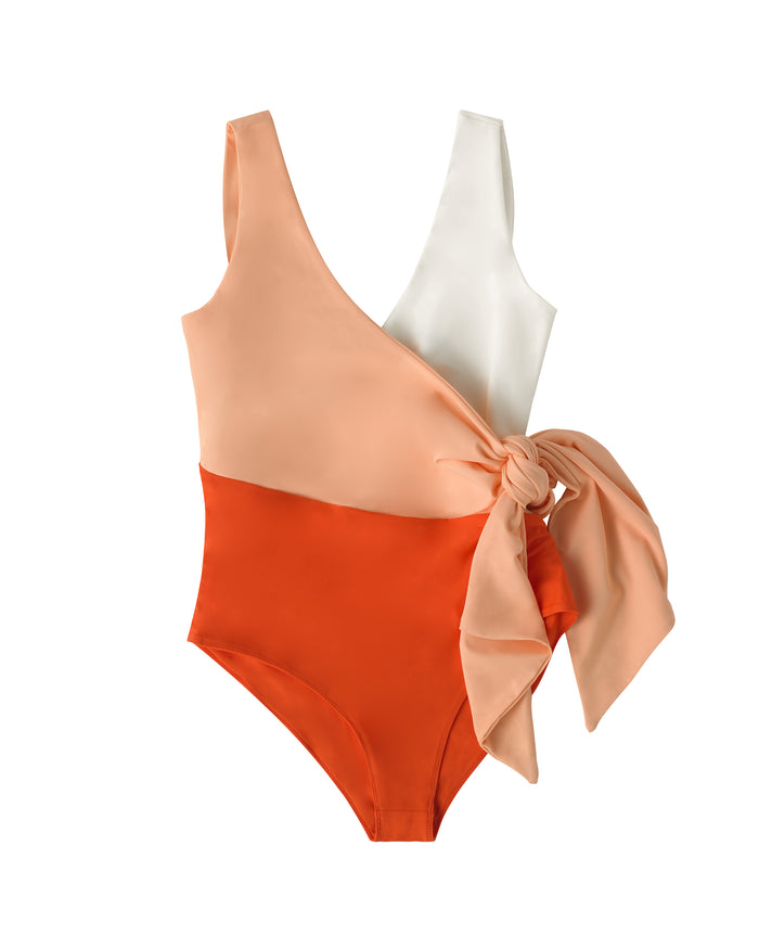 Copacabana Swimsuit Coral