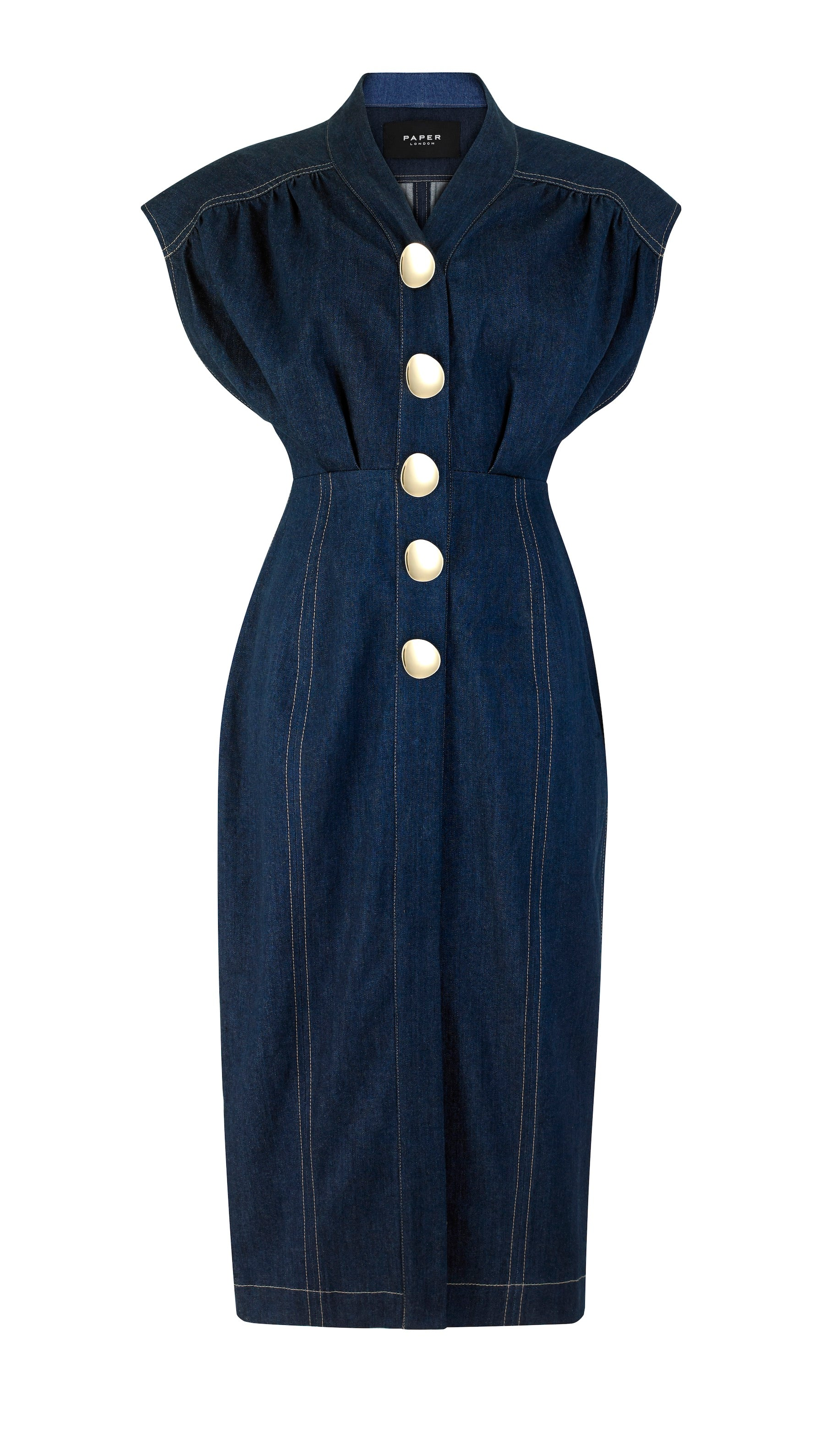 Marrakesh Dress Dark Denim