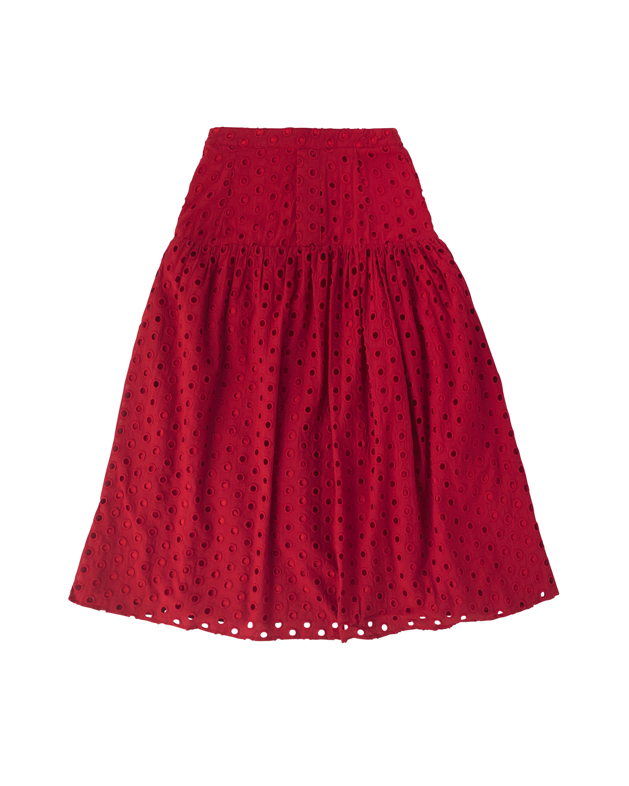 Fiesta Skirt Red