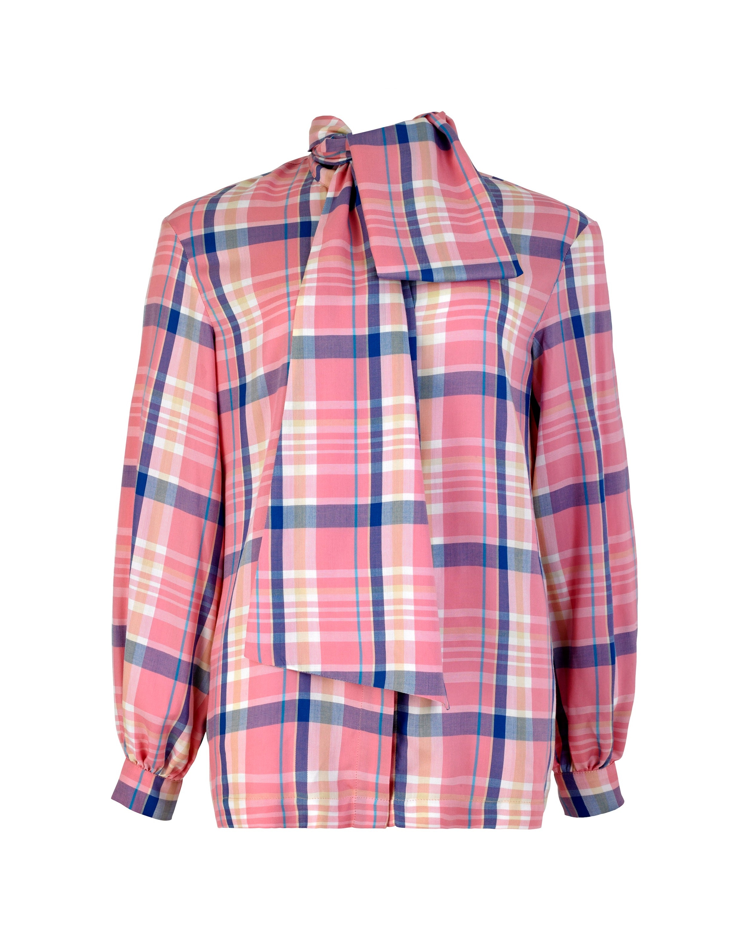 Bow Shirt Mendl Check
