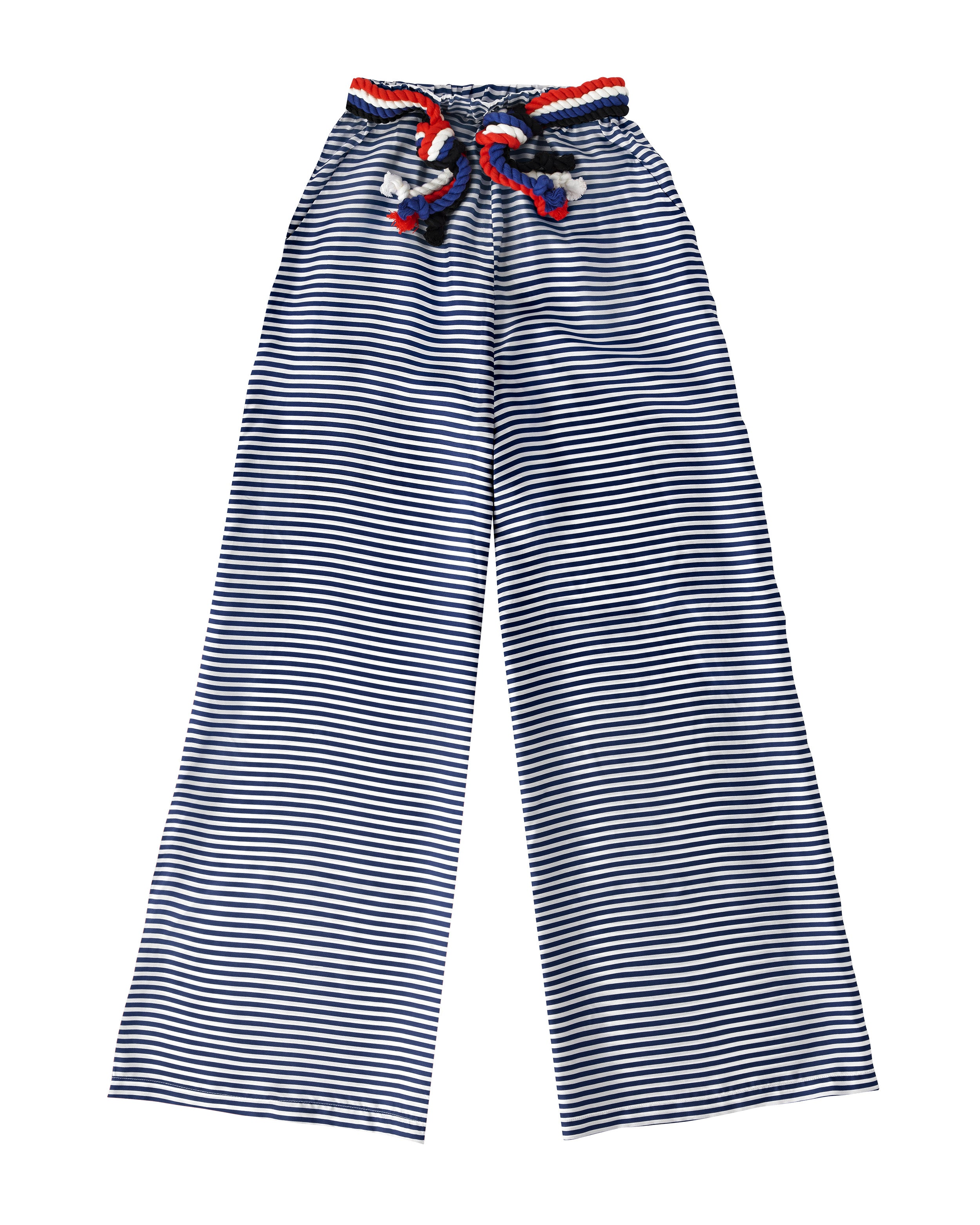 Nevis Trousers Navy & White