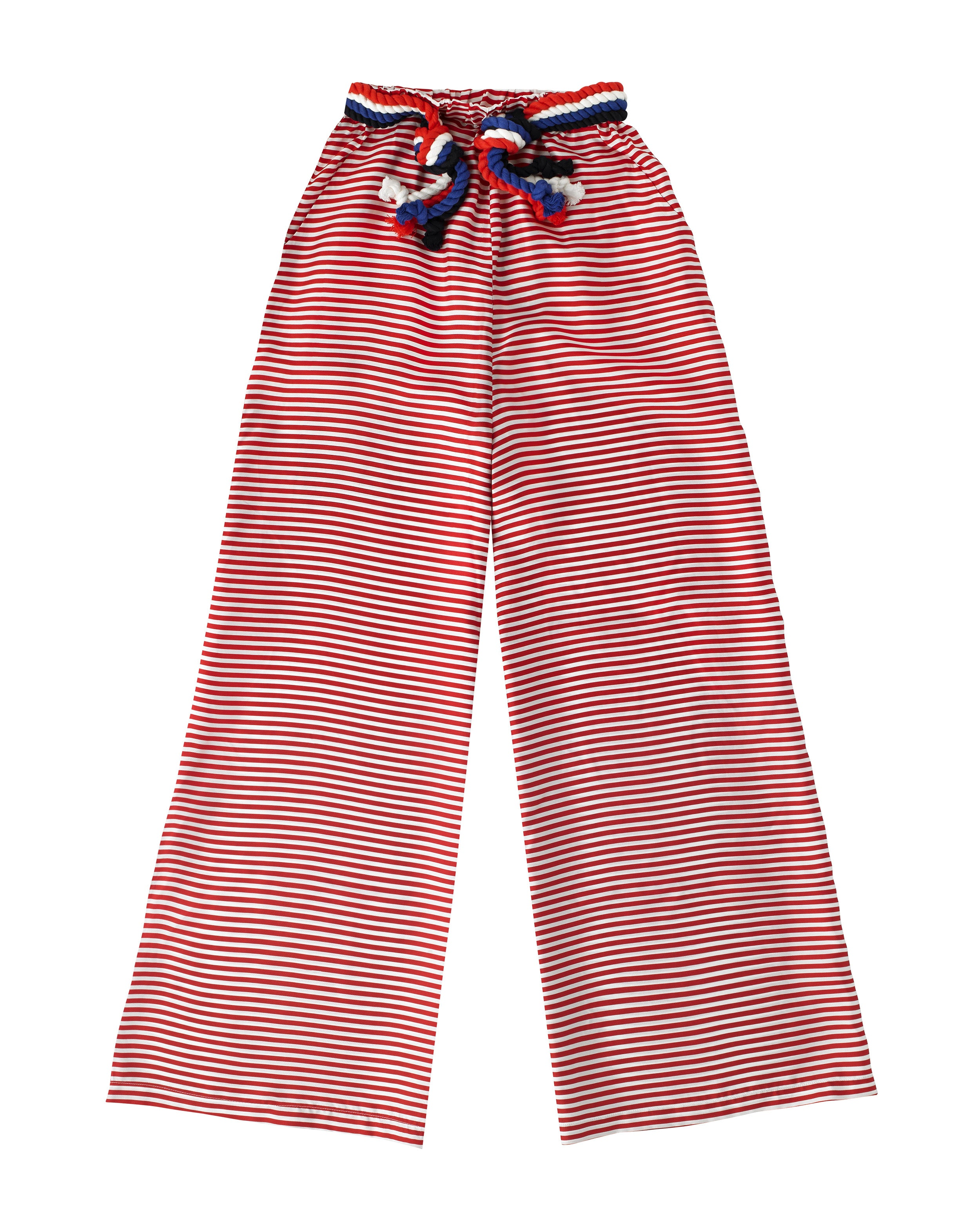 Nevis Trousers Red & White