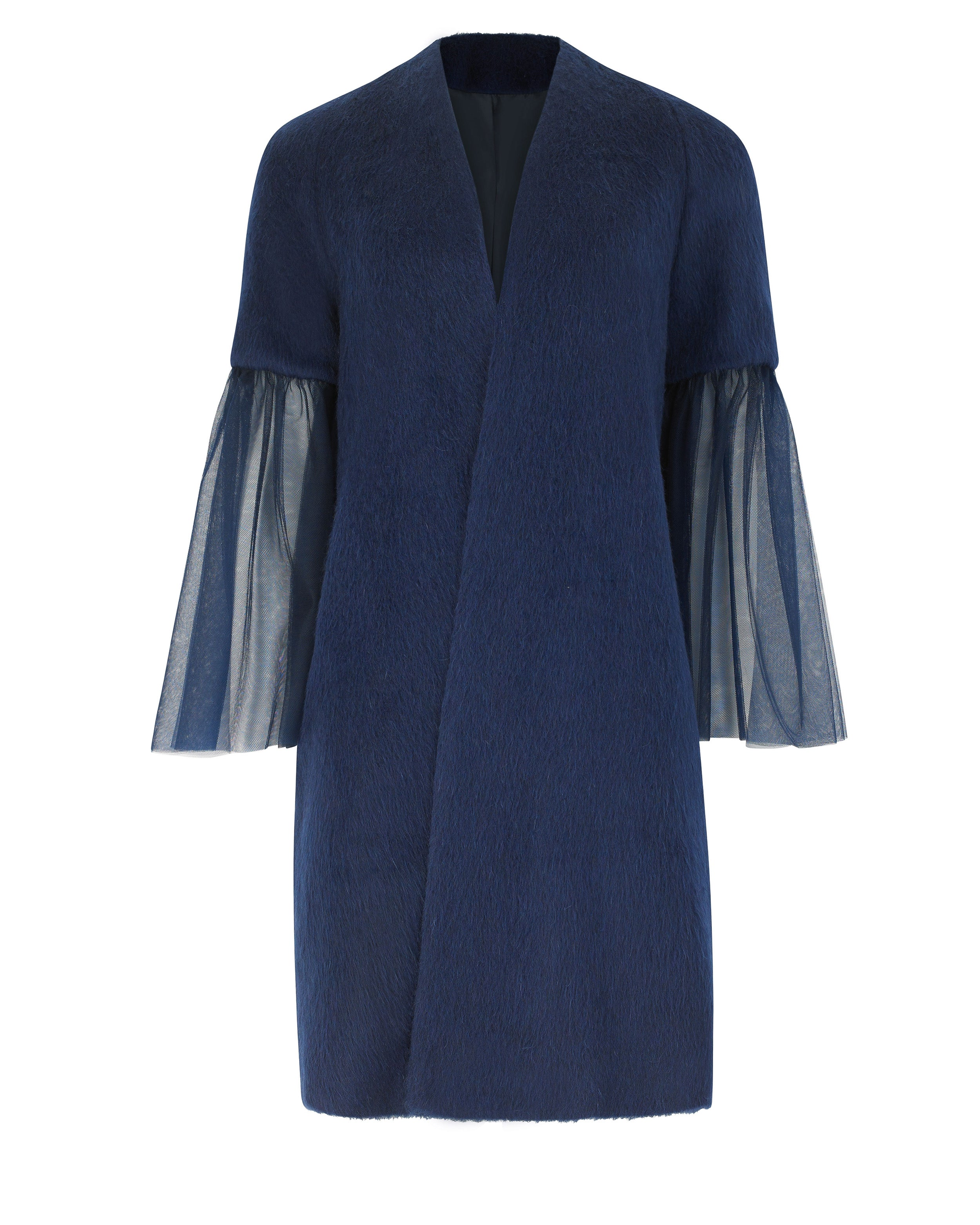 Pfeiffer Coat in Big on Blue