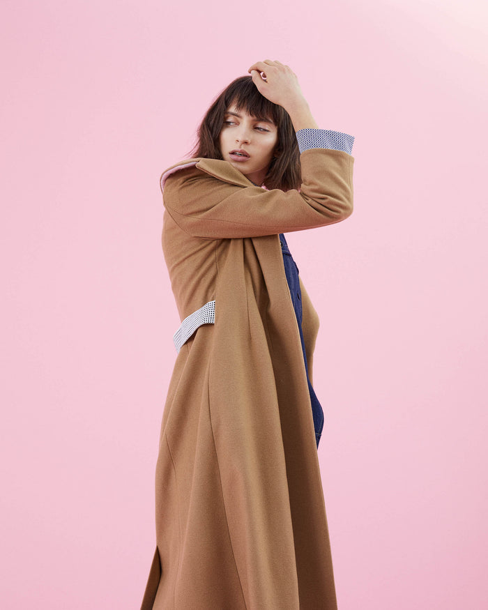 Belle Coat Camel