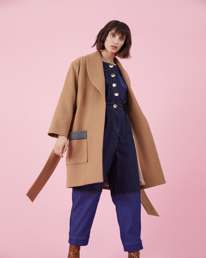 Jupiter Coat Camel