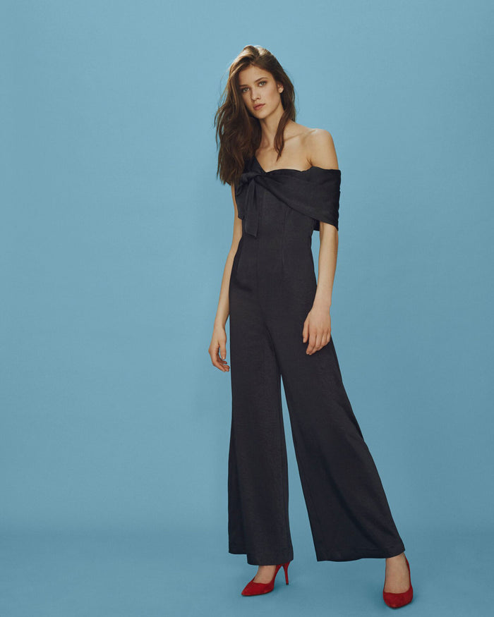 Stina Jumpsuit Midnight