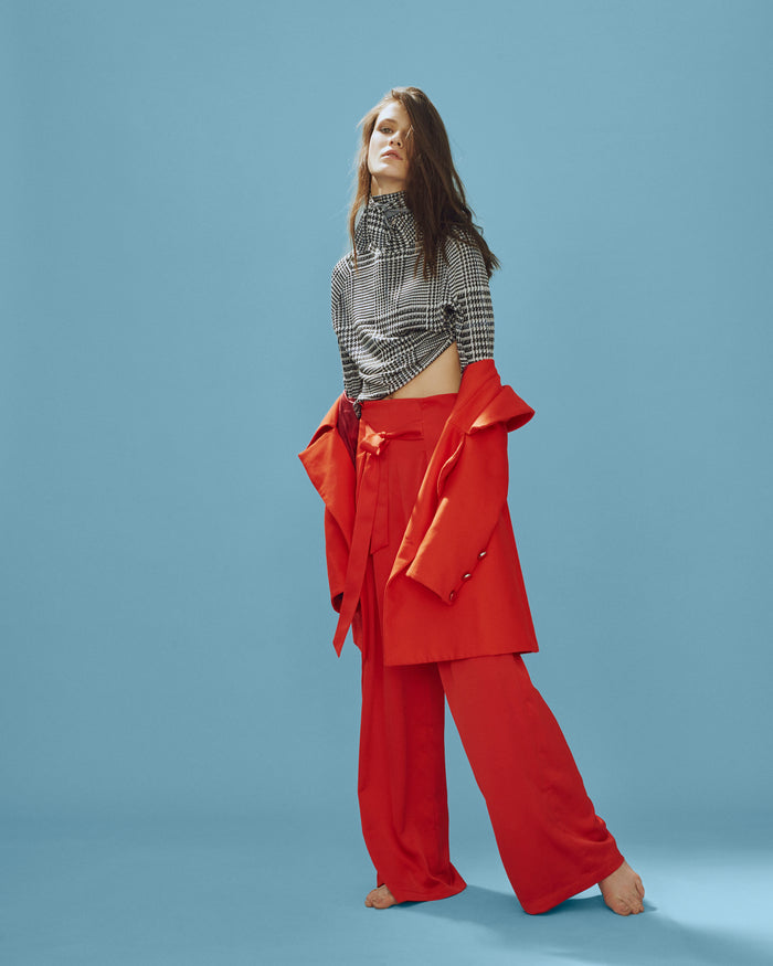 Twin Trousers Red