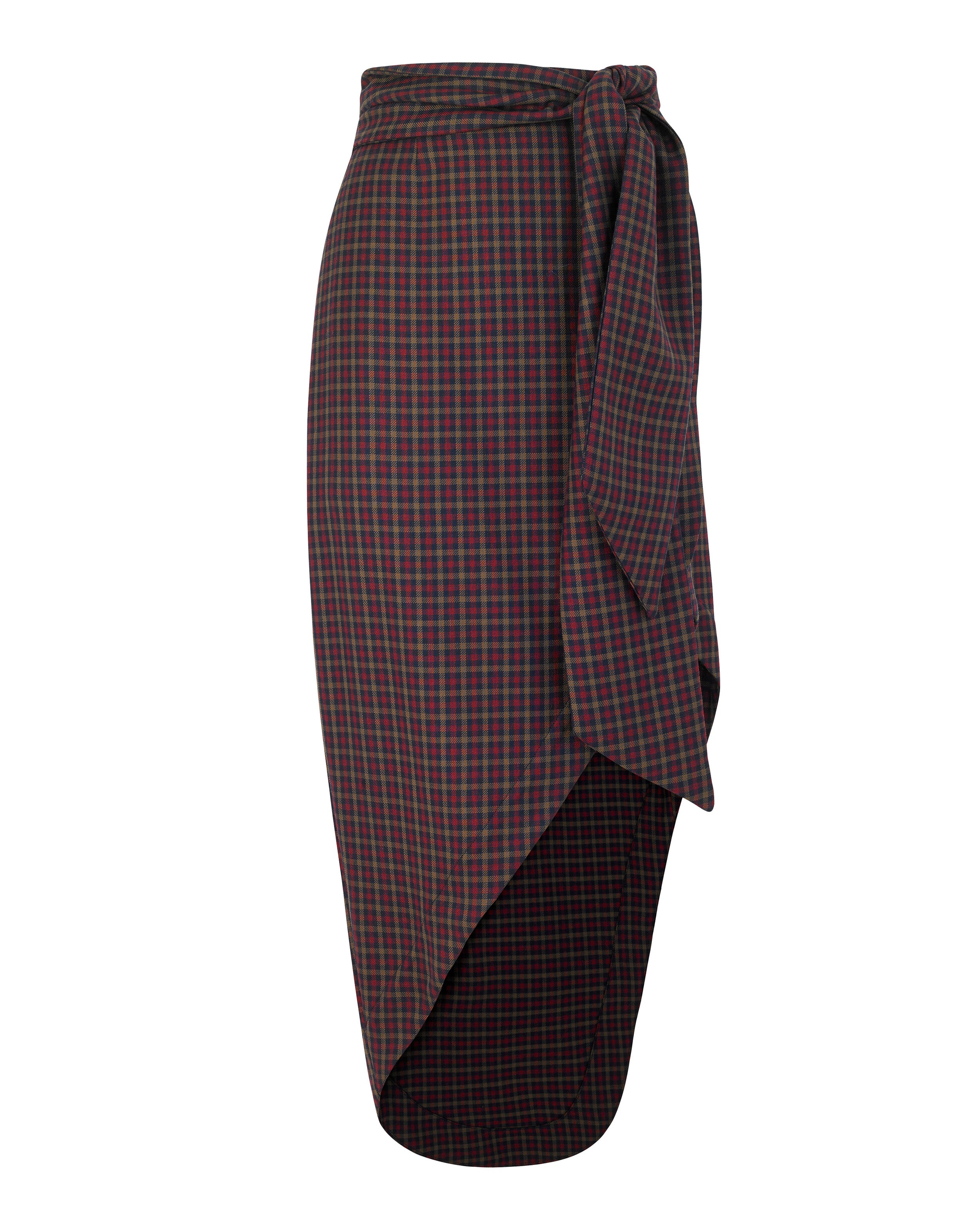 Salvadore Skirt in Autunno Check