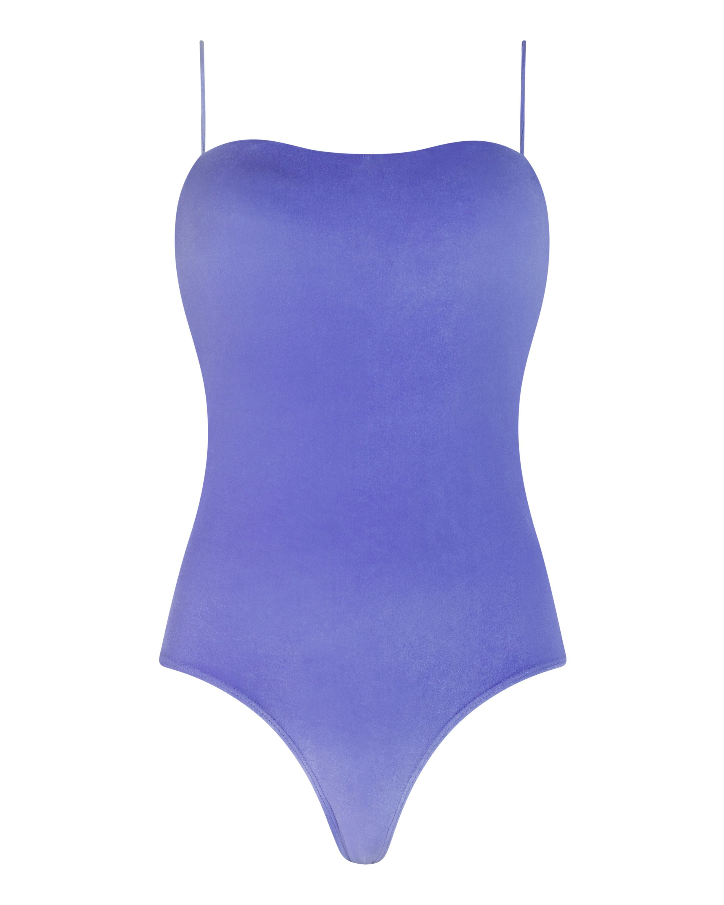 Sting Ray Swimsuit in Lilac Velvet