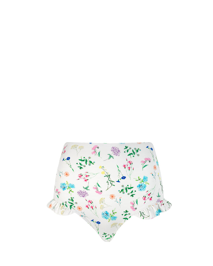 Sunshine Bikini Bottoms in Go With The Flower