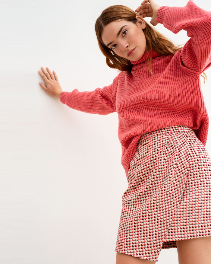 Artemis Jumper in Punch Drunk Pink