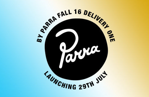 New By Parra product launches next Friday