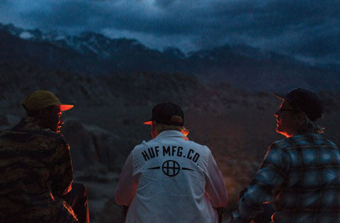 HUF Head To The Sierra Nevada Mountains For Their Spring 2016 Lookbook
