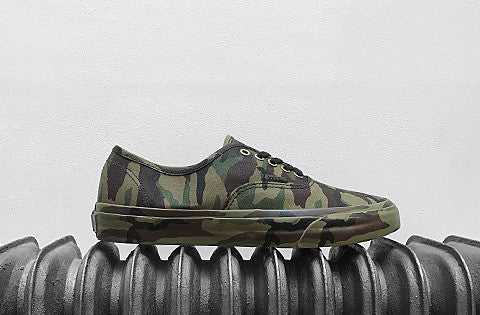 Vans Authentic Mono Camo