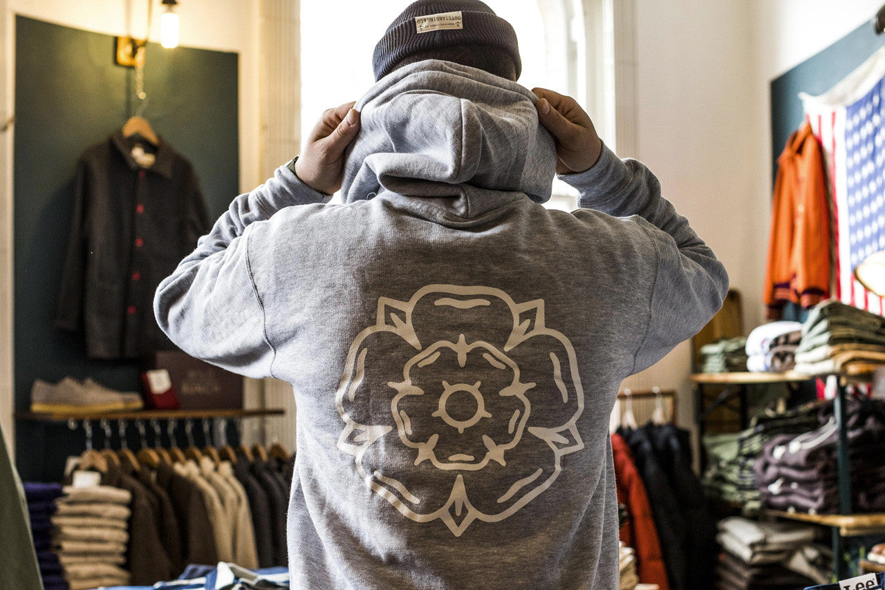 Don't Mess With Yorkshire Rose Hoodie