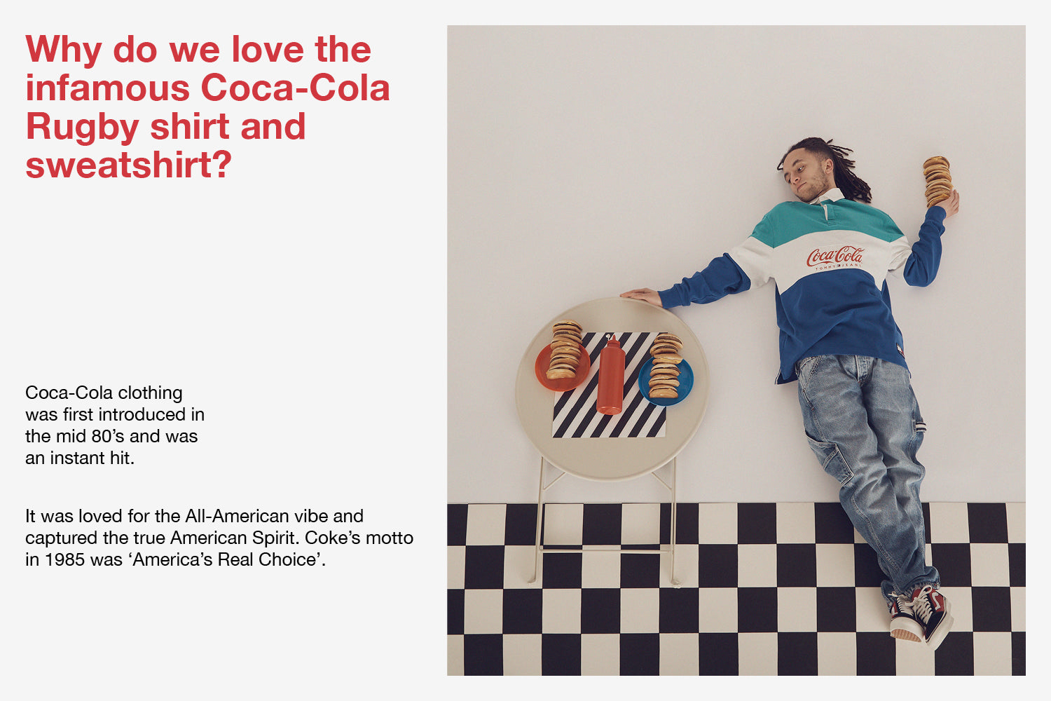 Tommy Jeans x Coca Cola