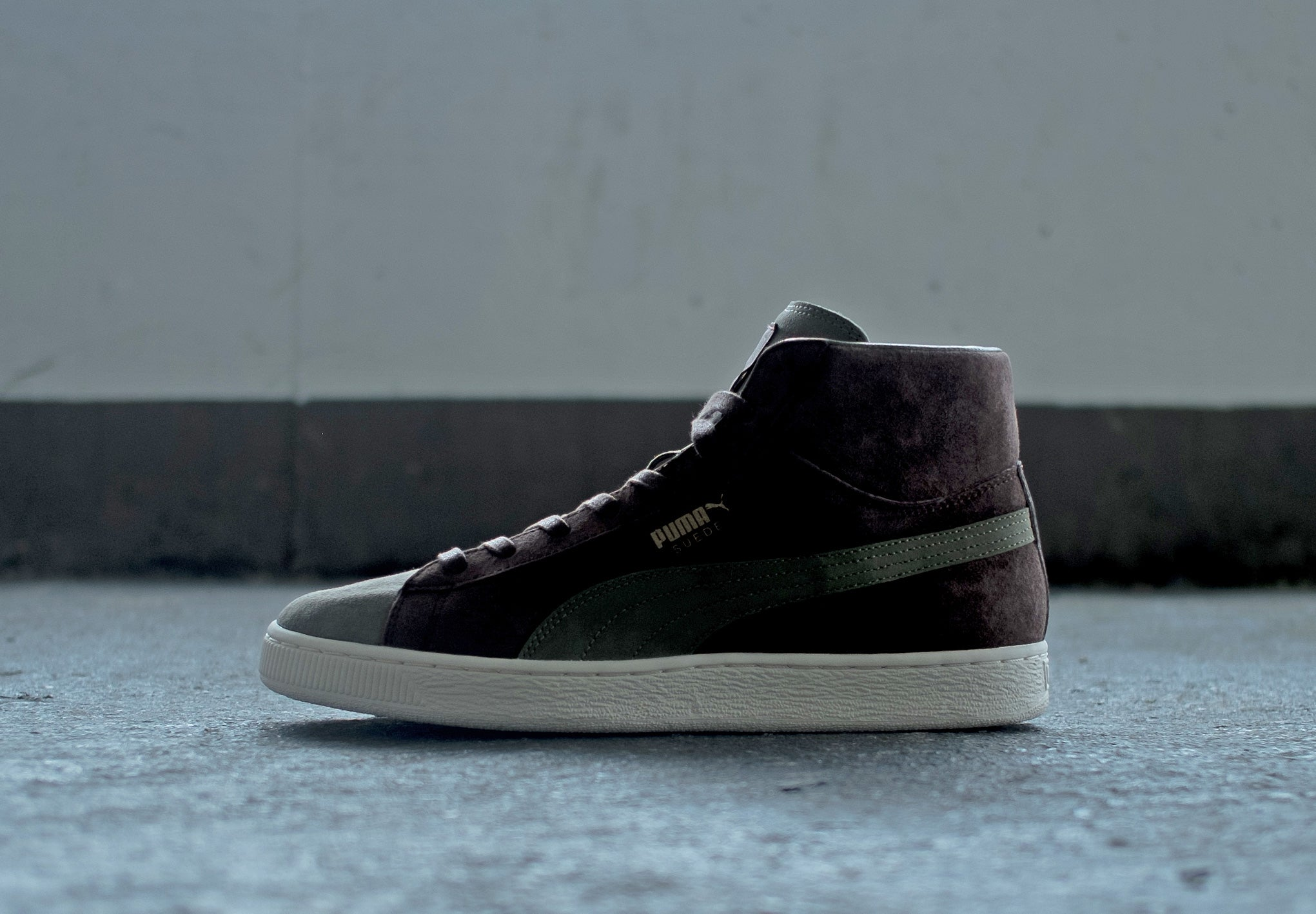 outlet store 7ba4a 362d2 PUMA x Bobbito Garcia Suede Mid and Clyde at The Chimp Store