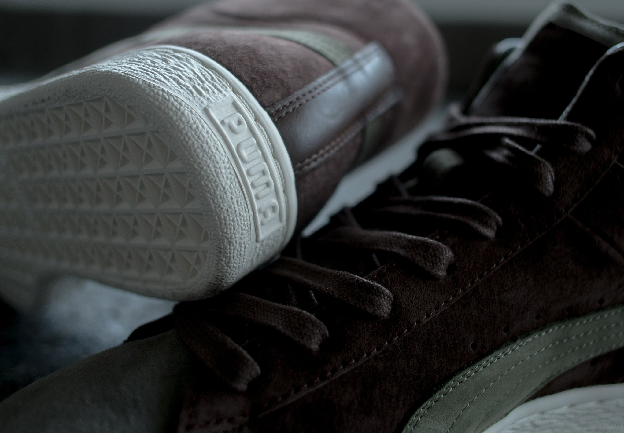 outlet store b2f1b 7c443 PUMA x Bobbito Garcia Suede Mid and Clyde at The Chimp Store
