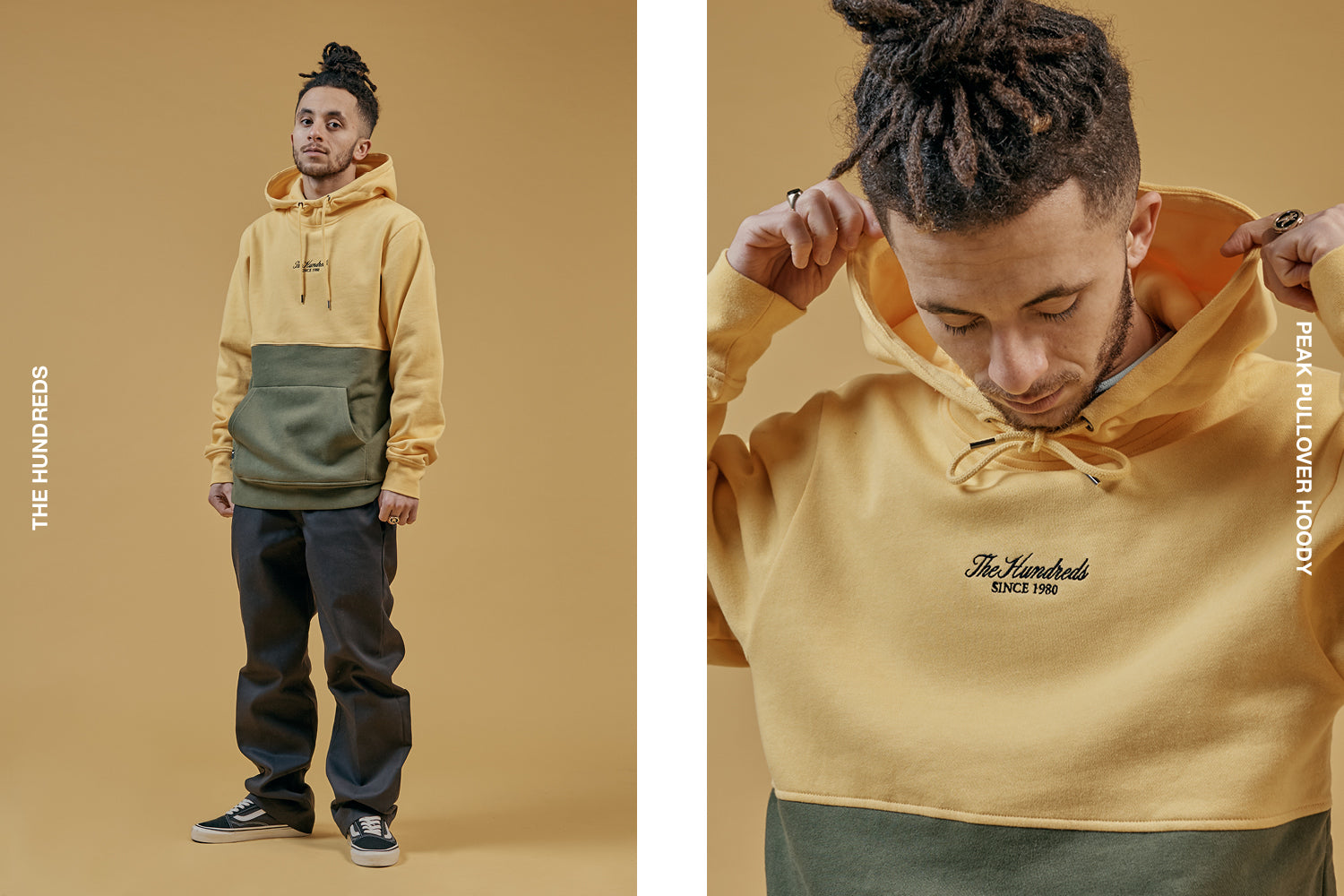 The Hundreds Peak Pullover Hoody