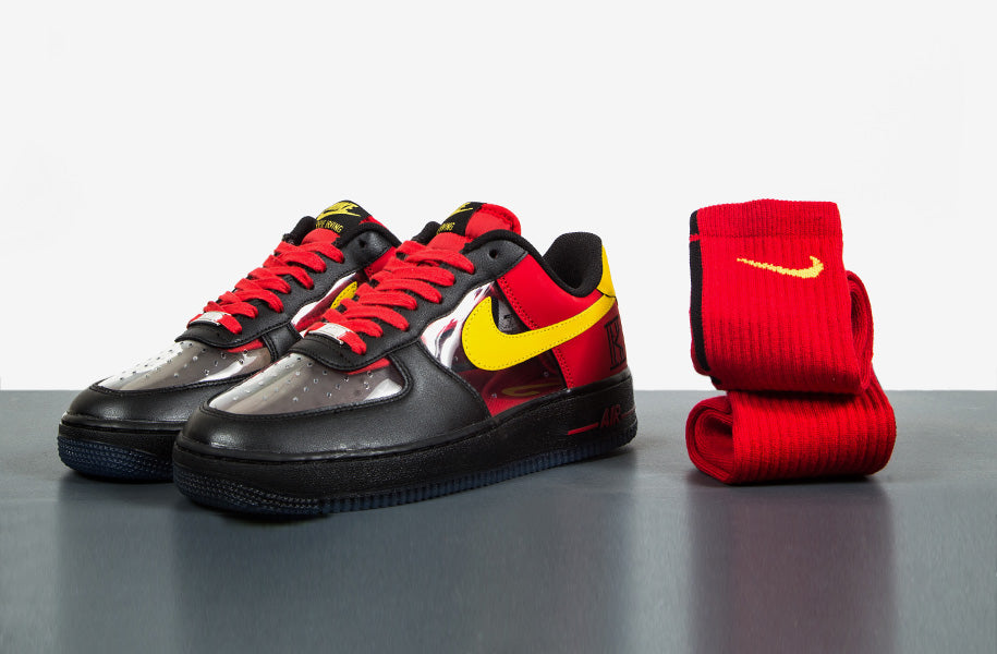pretty nice a070f 18ac4 Nike Air Force 1 CMFT Signature 'Kyrie Irving' QS | The ...