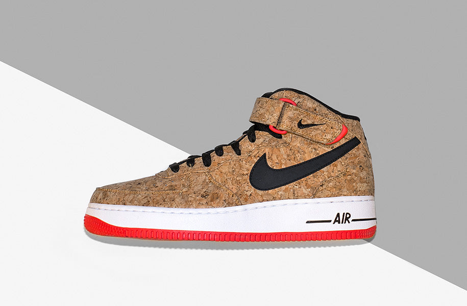 reputable site 4674b 96913 After a slew of Cork releases over the past 12 months we can unveil the  latest renditions. The Nike Air Force 1 Mid  Nike Blazer Mid are dressed  up in an ...