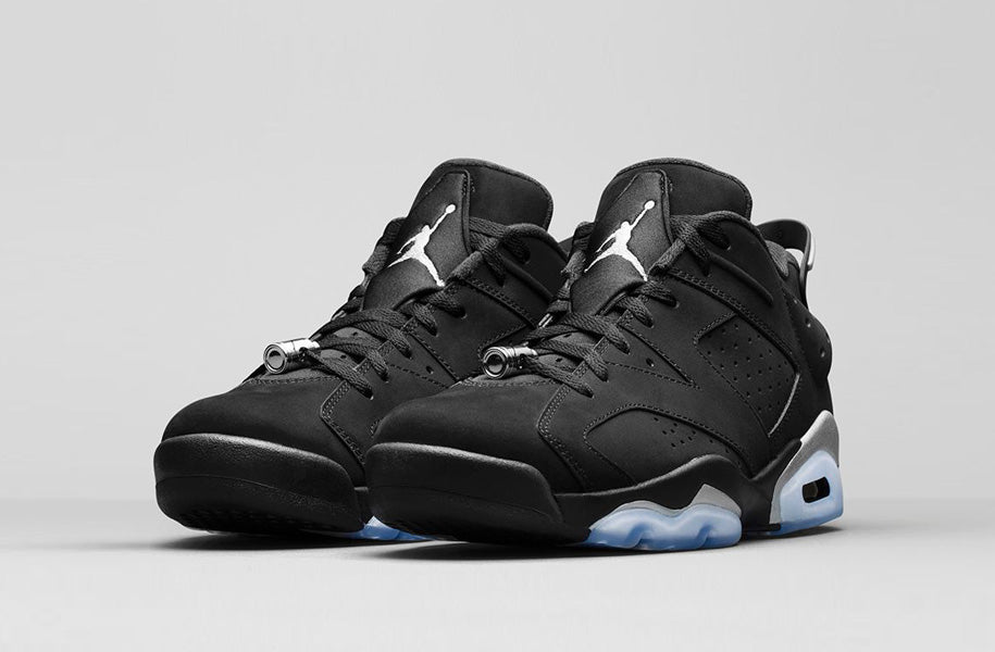 official photos b9b16 c715d Nike Air Jordan 6 Retro Low 'Metallic Silver' | The Chimp Store
