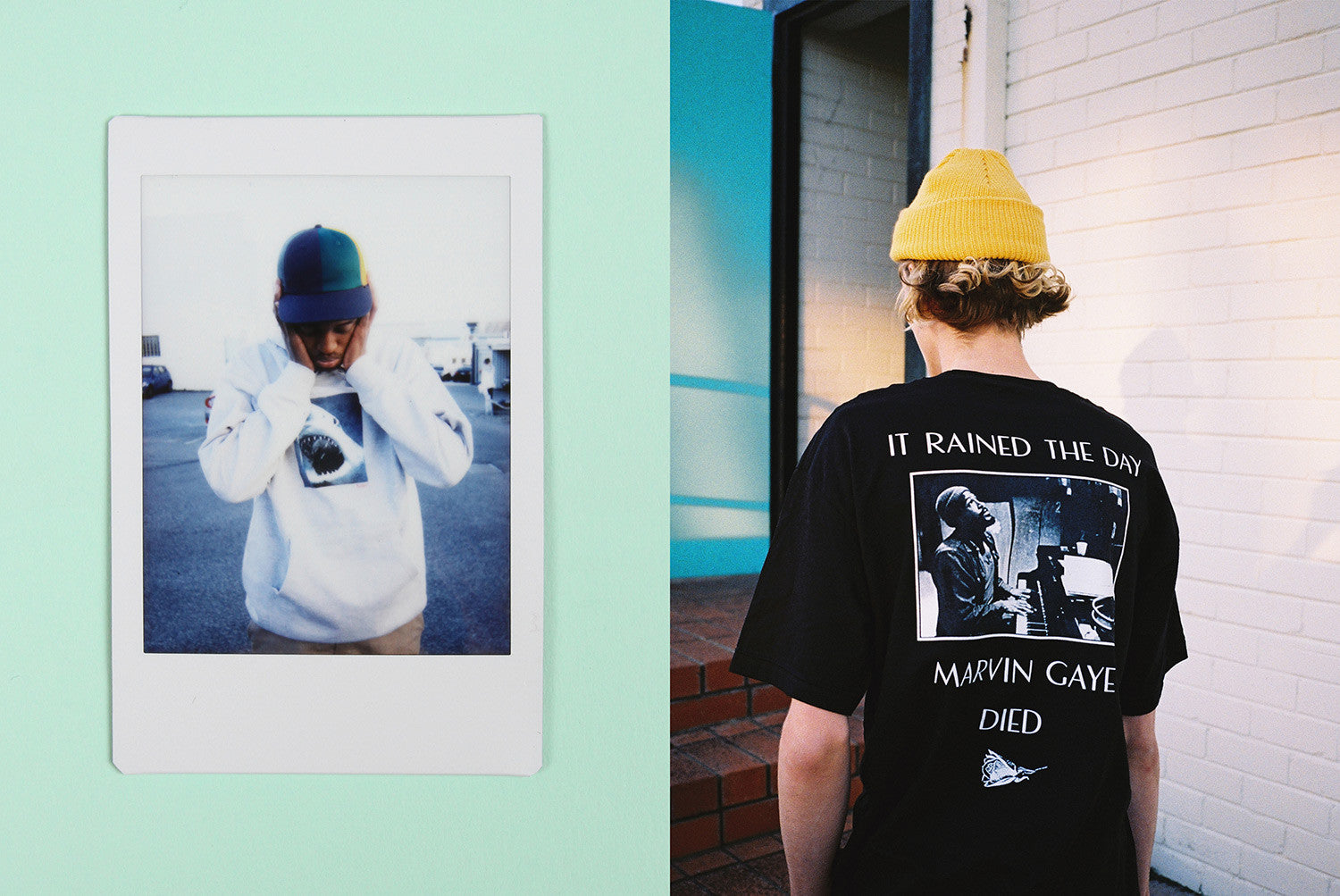 Butter Goods Marvin Gaye T Shirts