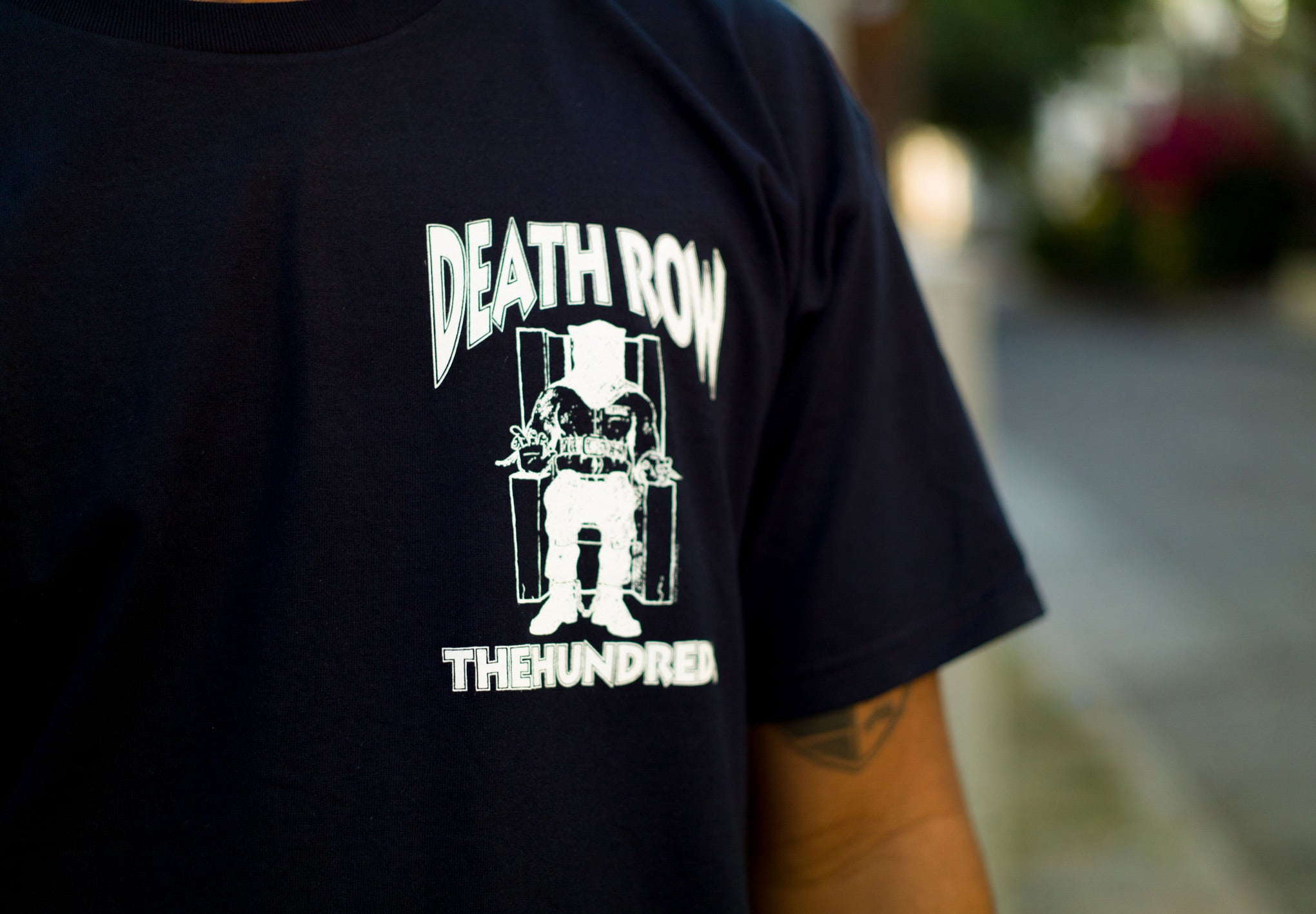 The Hundreds Death Row Crest T Shirt