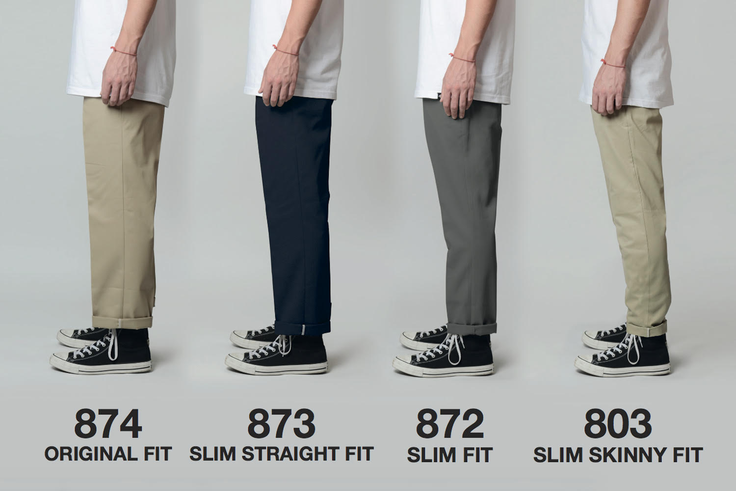 Not sure how Dickies 872 Work Pant Trousers Fit? Check out the details in our Dickies fit guide here.