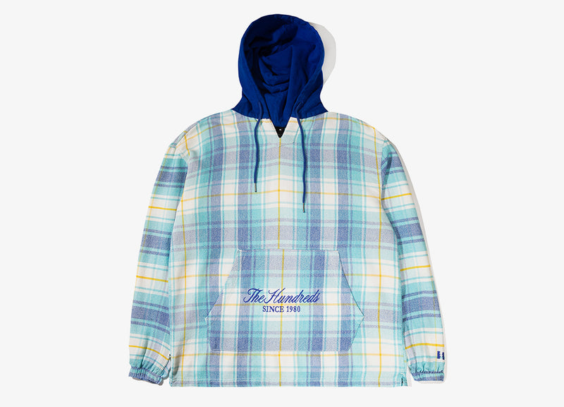 The Hundreds Alta Pullover Jacket - Blue