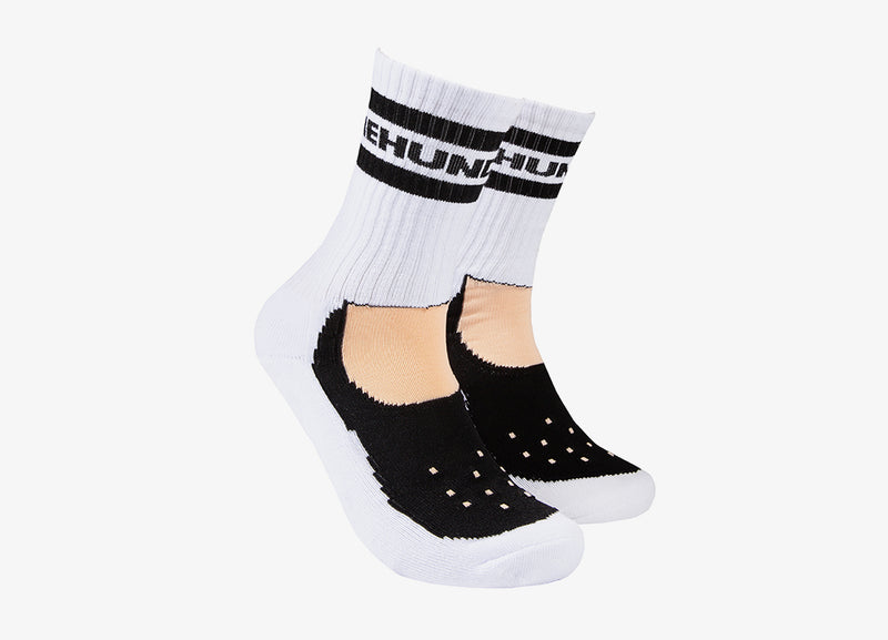 The Hundreds Footy Socks - White