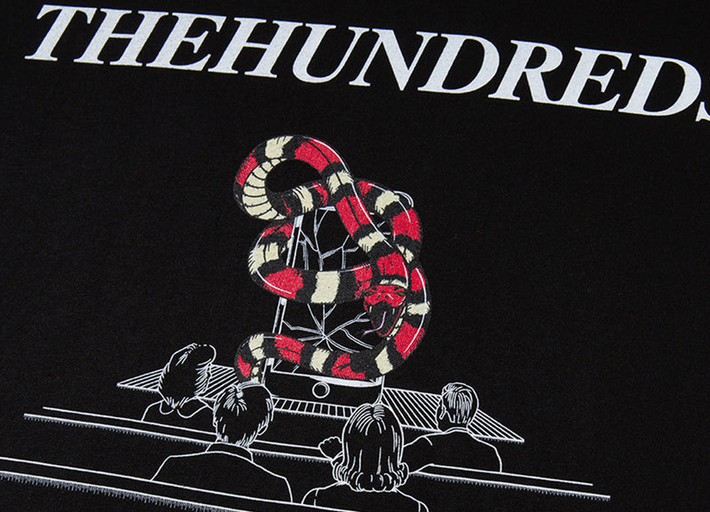 The Hundreds Control T Shirt - Black