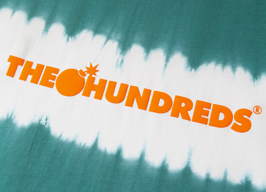 The Hundreds Bars L/S Shirt - Pool Blue