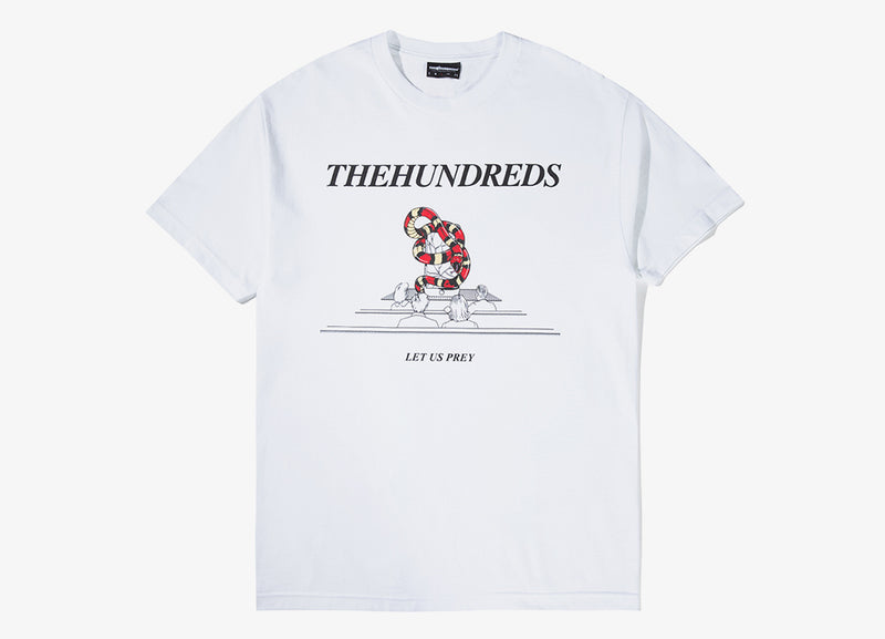 The Hundreds Control T Shirt - White